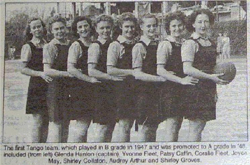 The first Tango Team in 1947